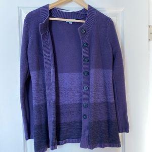 3 / $25! ✰ Vintage Jessica Purple  Cardigan